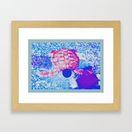 【亀】kame Framed Art Print
