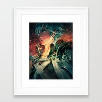 fresh prince Framed Art Prints featuring Fresh Prince of Ylisse by Alice X. Zhang