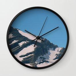 glacier ntl park part 1 Wall Clock
