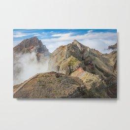 Mountains on Madeira Metal Print