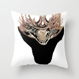 De(er)mon Throw Pillow