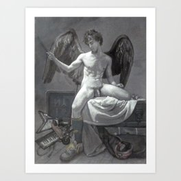 Cupid 2.0 Art Print