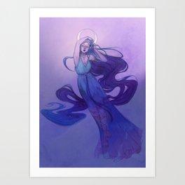 Selene - Goddess of the Moon Art Print