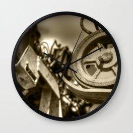Coffee Combine Cog Wall Clock