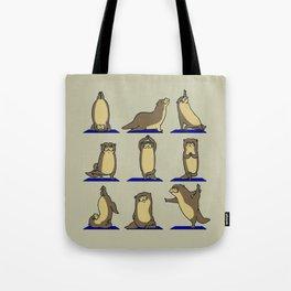 Otter Yoga Tote Bag