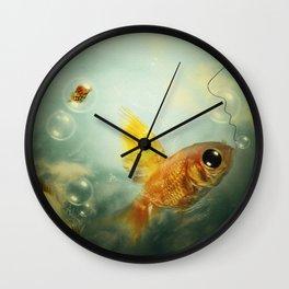 CallFish Wall Clock