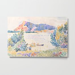 Cap Nègre by Henri-Edmond Cross 1909, French Metal Print