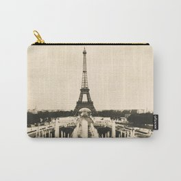 Eiffel Tower - Vintage Post card Carry-All Pouch