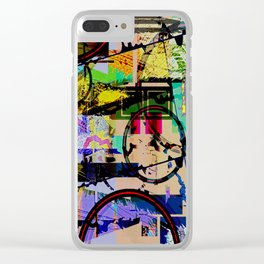 I'd Rather Be Nothing Clear iPhone Case