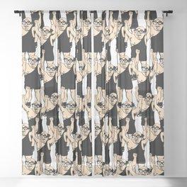 Trash Man Sheer Curtain
