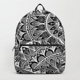 Black and White Mandala 5 Backpack