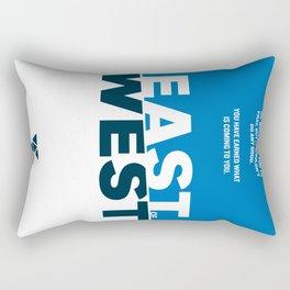 East of West Rectangular Pillow