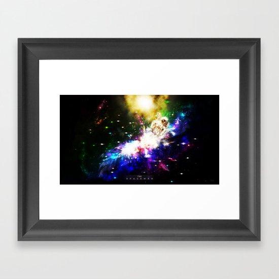 The Spaceman Framed Art Print