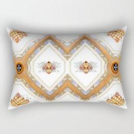 A Glass Ceiling Rectangular Pillow