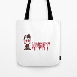 Vampire Creature Of The Night Halloween Tote Bag