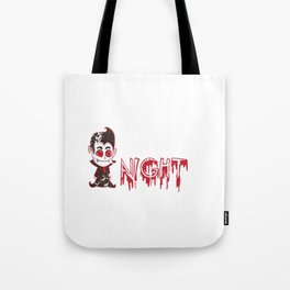 Hallows Eve Gift Vampire Creature Of The Night Halloween Tote Bag