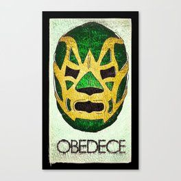 Fishman: OBEDECE Canvas Print