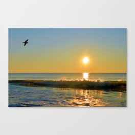 Shimmering Sunrise Canvas Print