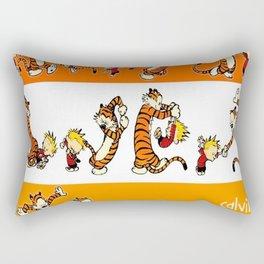 calvin and hobbes  fun Rectangular Pillow
