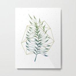 Geometry and Nature I Metal Print