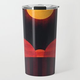 Mercury - Wrinkle Ridges Travel Mug