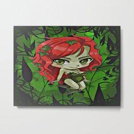 Ivy The Queen Of Green Metal Print