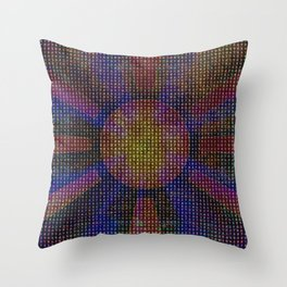 Surya Invocation (Sun) - Magick Square Yantra Tantra Throw Pillow
