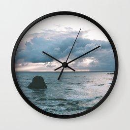 Oregon Coast X Wall Clock