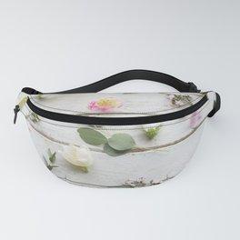 Elegant Flowers Fanny Pack