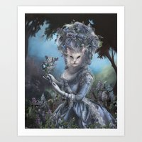 marie antoinette Art Prints featuring Marie Antoinette by Christina Hess