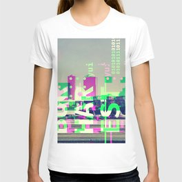 GLITCH CITY #17: Bucharest T-shirt