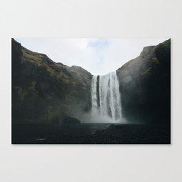 Skógafoss Falls Canvas Print