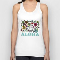 aloha Tank Tops featuring Aloha by Isabel Aniel
