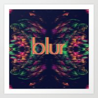 blur Art Prints featuring Blur by Devin Stout