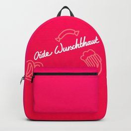 Oide Wurschthaut   [gradient] Backpack