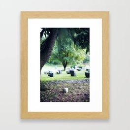 Sanitorium Hill 3 Framed Art Print