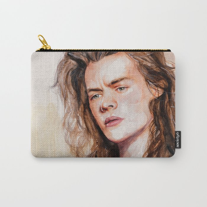 Harry watercolors III Carry-All Pouch