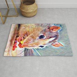 Aquarell Rat Rug