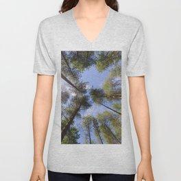 Corsican Pine Canopy Unisex V-Neck
