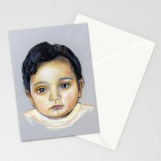 R-Portrait  Stationery Cards