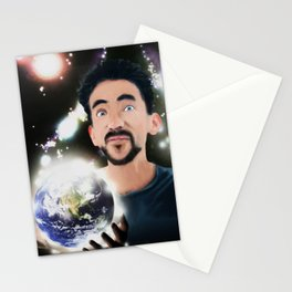 Frost man Stationery Cards