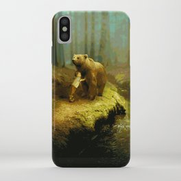 A Little Boy's Dreamscape (Painting) iPhone Case