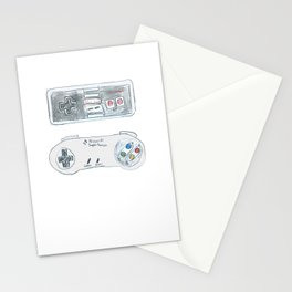 Old School Controllers Stationery Cards