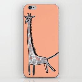 Giraffe Kick iPhone Skin