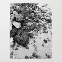 Bed of rocks Poster