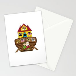 Cute Noahs Ark Stationery Cards