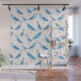 Seagulls Wall Mural