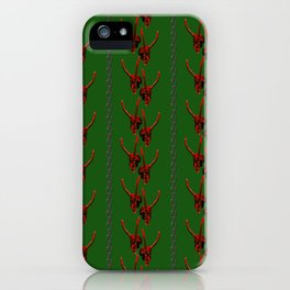 Season's Greetings from the Krampus iPhone Case
