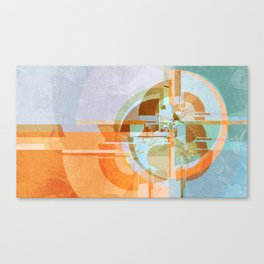 Modern boom Canvas Print