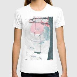 Swing in the Flower Tree T-shirt
